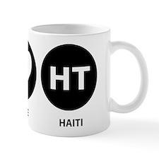 Peace Love Haiti Mug