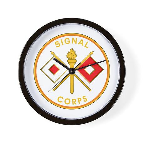 SIGNAL-CORPS Wall Clock
