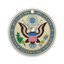 STATE-DEPARTMENT-SEAL Ornament (Round)