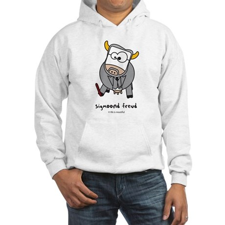 sigmoond freud Hooded Sweatshirt