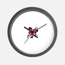 CCAD Splash Wall Clock