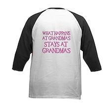 STAYS AT GRANDMA'S (pnk) Tee