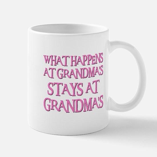 STAYS AT GRANDMA'S (pnk) Mug