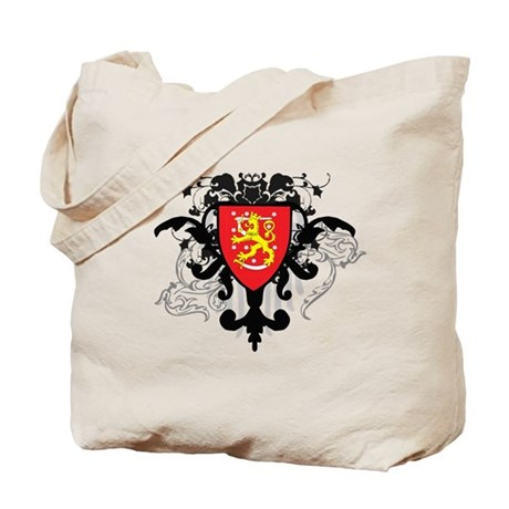 Stylish Finland Tote Bag