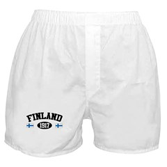 Finland 1917 Boxer Shorts
