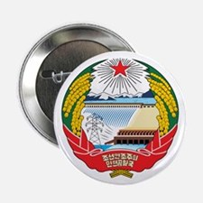 NORTH KOREA 2.25 Button (10 pack)