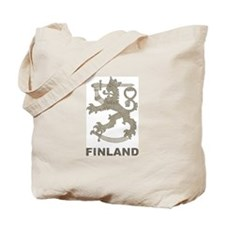 Vintage Finland Tote Bag