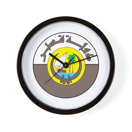 QATAR Wall Clock