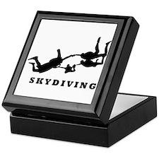 skydiving Keepsake Box