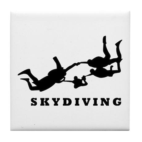 skydiving Tile Coaster