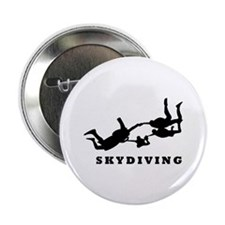 "skydiving 2.25"" Button (10 pack)"