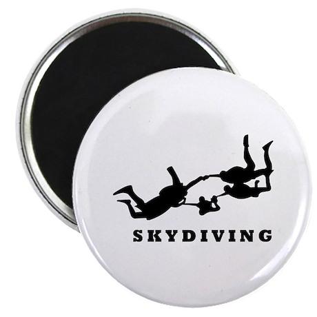 "skydiving 2.25"" Magnet (10 pack)"