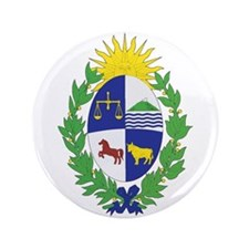 URUGUAY 3.5 Button (100 pack)