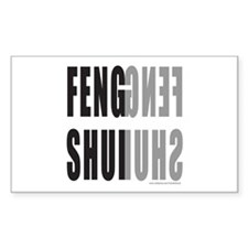 FENG SHUI Rectangle Decal
