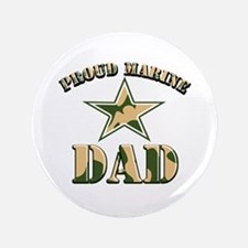 """Proud Marine Dad 3.5"""" Button (100 pack)"""