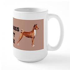 Basenji Bark Mug