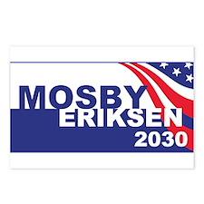 Vote Mosby Ericksen 2030 Postcards (Package of 8)