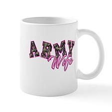 Army Wife Ol School Camo Mug