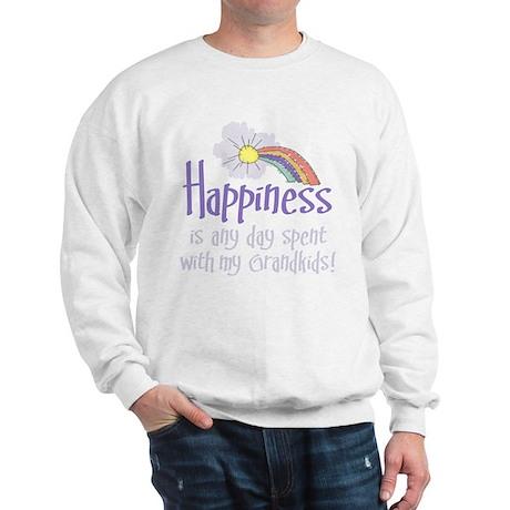HAPPINESS IS DAY W/ GRANDKIDS! Sweatshirt