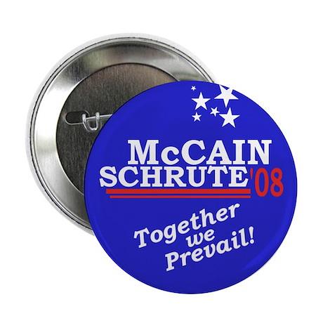 "McCain/Schrute 2008 2.25"" Button (100 pack)"