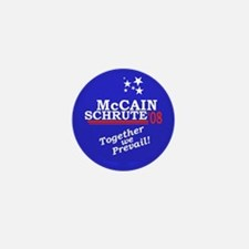 McCain/Schrute 2008 Mini Button