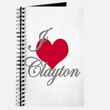 I love (heart) Clayton Journal