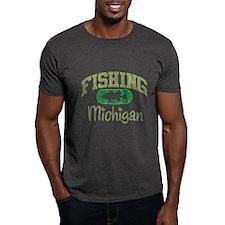 FISHING MICHIGAN T-Shirt