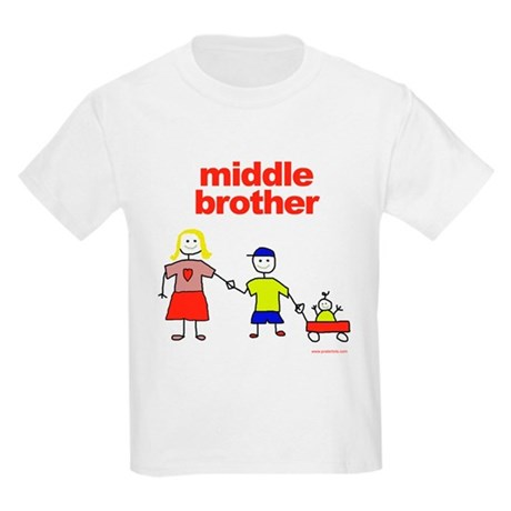 Middle bro wagon Kids Light T-Shirt