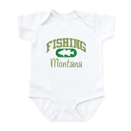 FISHING MONTANA Infant Bodysuit