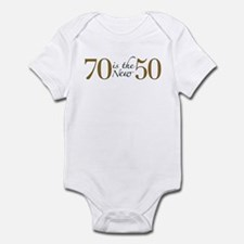 70 is the new 50 Infant Bodysuit