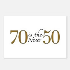 70 is the new 50 Postcards (Package of 8)