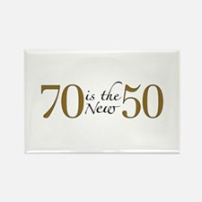 70 is the new 50 Rectangle Magnet (10 pack)