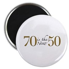 """70 is the new 50 2.25"""" Magnet (100 pack)"""