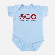 Peace love Canada Infant Bodysuit