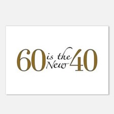 60 is the new 40 Postcards (Package of 8)