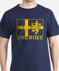 Sverige Flag T-Shirt