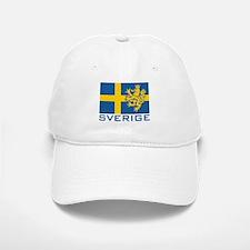 Sverige Flag Baseball Baseball Cap
