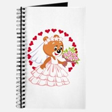 Teddy Bear Bride Journal