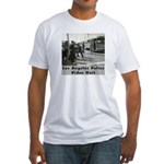 L.A. Police Video Unit Fitted T-Shirt