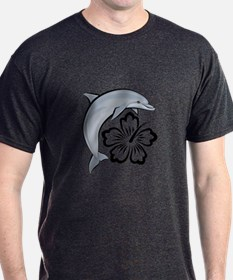 Dolphin Hibiscus T-Shirt