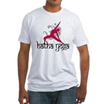 Hatha Yoga Fitted T-Shirt