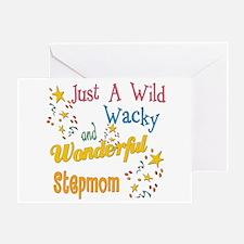 Wild Wacky Step Mom Greeting Card