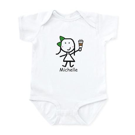Coffee - Michelle Infant Bodysuit