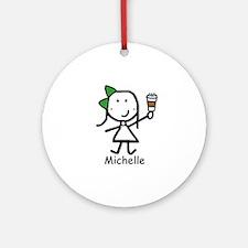 Coffee - Michelle Ornament (Round)