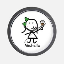 Coffee - Michelle Wall Clock