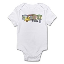 Baby Makes 5 Infant Bodysuit