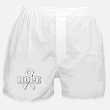 White Hope Ribbon Boxer Shorts