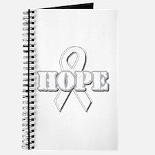White Hope Ribbon Journal
