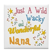 Wild Wacky Nana Tile Coaster