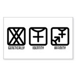 FemaleFemale to Both Rectangle Sticker 10 pk)